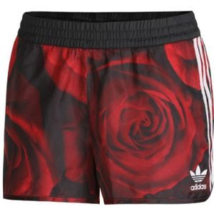 RARE Adidas Red Clash Rose Camo Shorts XS